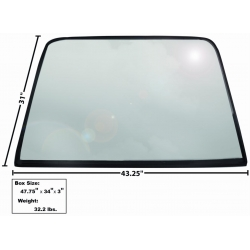 1969-70	Rear Window Glass with rubber seal