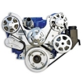 S.drive SERPENTINE PULLEY KIT FOR SMALL BLOCK FORD 289-351W (FROM: $2250)