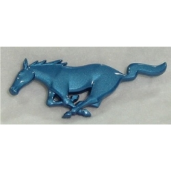 1994-2004 BRIGHT BLUE RUNNING GRILLE HORSE EMBLEM