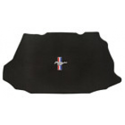 08-09 Trunk Mats for Coupe - no shaker w/Pony & Bars Emblem