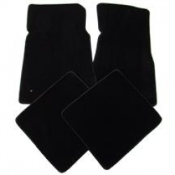 79-93 Floor Mats, Black - no emblem