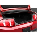 2010-present Trunk Mats for Mustang GT/Shelby convt - w/Shaker 1000 plain