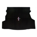 64-70 Trunk Mats for Convertible w/Pony + Bars Emblem