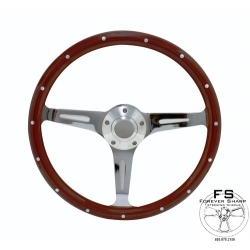 "1964-69 14"" Eurowood Steering Wheel"