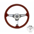 "1964-69 14"" Classic Wood Steering Wheel"