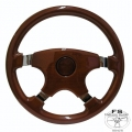 "1964-69 14"" Elite Wood Steering Wheel"