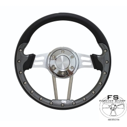"1966-69 12.5"" Drifter II Steering Wheel"