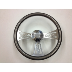 "1965-69 14"" Flame Half Steering Wheel"