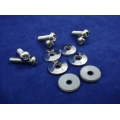 2005-2008 16 pc FENDER HARDWARE KIT, LH & RH  STAINLESS STEEL