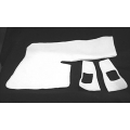 1964-68 REAR QUARTER TRIM PANEL PADDING KIT, 2 SIDED KIT