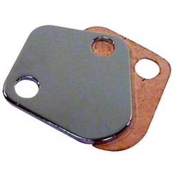 Fuel Block Off Plate