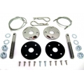 Hood Pin Kits Black