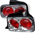 2005-09 Euro Style Tail Lights Chrome (PAIR)