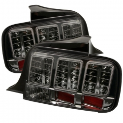 2005-09 Euro Style LED Tail Lights Smoke (PAIR)