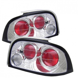 1994-95 Euro Style Tail Lights Chrome (PAIR)