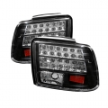 99-04 LED Tail Lights - Black (PAIR)