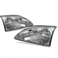 94-98 Crystal Headlights - Chrome (PAIR)