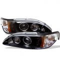 94-98 Projector Headlights- Black (PAIR)