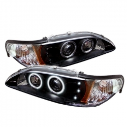 94-98 Projector Headlights - Black (PAIR)