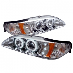 94-98  Projector Headlights - Chrome (PAIR)