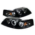 99-04 Projector Headlights - Black (PAIR)