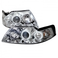 99-04 Projector Headlights - Chrome (PAIR)
