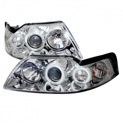99-04 Projector Headlights- Smoke (PAIR)
