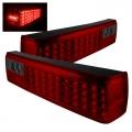 87-93 LED Tail Lights - Red Smoke (PAIR)
