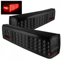87-93 LED Tail Lights - Smoke (PAIR)