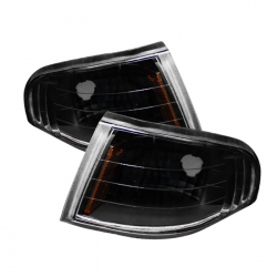 94-98 Amber Corner Lights - Black (PAIR)