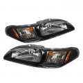 94-98 Crystal Headlights - Black (PAIR)