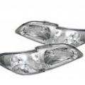 94-98 LED Crystal Headlights W/ Corner Lights - Chrome (PAIR)