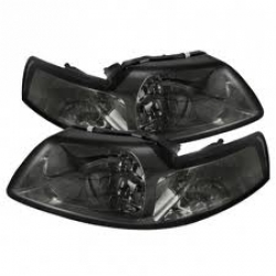 99-04 Crystal Headlights - Smoke (PAIR)