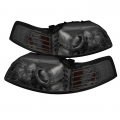 99-04 LED Projector Headlights - Smoke (PAIR)