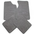 79-93 Floor Mats, Grey - No Emblem