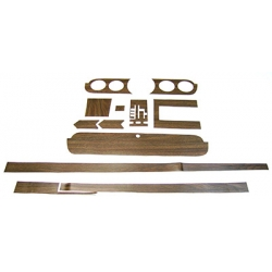 1965-66 MUSTANG DELUXE WOOD TRIM KIT Deluxe Wood Grain Kit