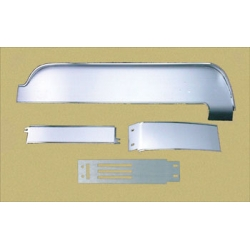 1967 MUSTANG DELUXE BRUSHED ALUMINUM DASH PANEL & TRIM KIT