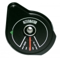 1969-70 MUSTANG ALTERNATOR GAUGE WITHOUT TACH, Black Face.