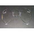 1971-73 INSTRUMENT BEZEL LENSES SET, Without Tach