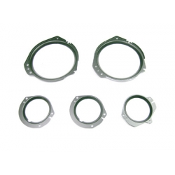 1967-68 MUSTANG INSTRUMENT LENS BUCKET SET