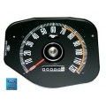 1969-70 MUSTANG SPEEDOMETER WITHOUT TACH, Black Face.