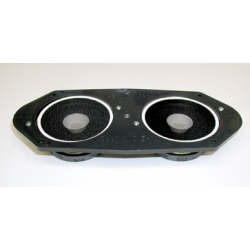 1967-68 DASH MOUNTED DUAL SPEAKERS, Upgraded (Cars W/O AC)