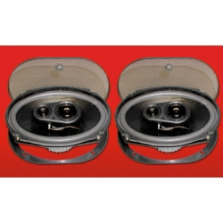 "6"" X 9"" TRIAXIAL SPEAKERS, 120 Watts"