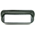 1967-68 MUSTANG CD DASH BEZEL, Black