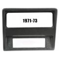 1971-73 MUSTANG CD DASH BEZEL, Black