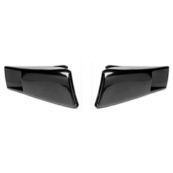 1967-68 SHELBY STYLE FIBERGLASS UPPER SIDE SCOOPS, Pair