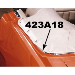 1965-66 CONVERTIBLE TOP SIDE CHROME