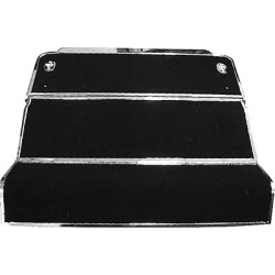 1967-70 REAR FOLD DOWN SEAT ASSMBLY W/ MOLDING