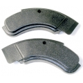 1971-73 SEAT SIDE HINGE COVERS, Mustang (Pair)