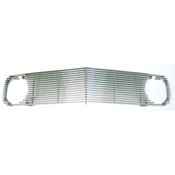1970 MUSTANG POLISHED BILLET GRILLE, Except Mach 1